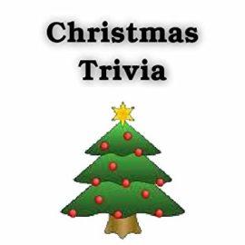 Christmas Trivia Question #5